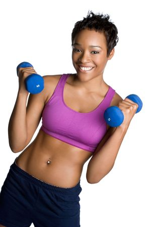 Happy Fitness Woman Stock Photo - 5931608