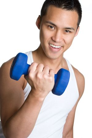 Asian Working Out Stock Photo - 5931607