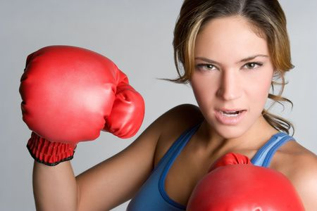 Boxing Girl Stock Photo - 5931618
