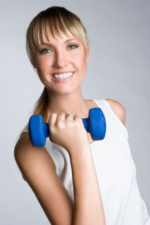 Smiling Workout Woman Stock Photo - 5997445