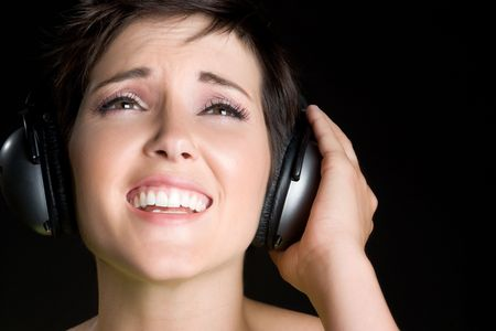Woman Listening to Music Stock Photo - 6059261