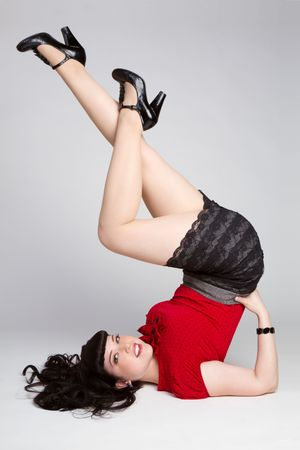 Beautiful Pinup Girl Stock Photo - 6095003