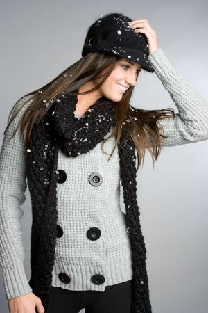 Winter Fashion Woman Stock Photo - 6086201