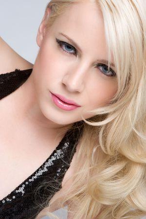Blond Model Posing Stock Photo - 6095011