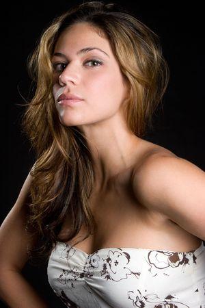 Pretty Woman Posing Stock Photo - 6095012