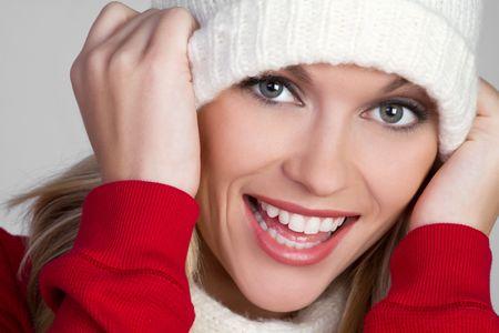 Winter Beanie Girl Stock Photo - 6141506