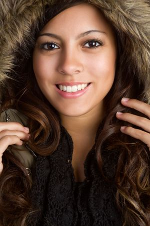 Winter Coat Girl Stock Photo - 6162881