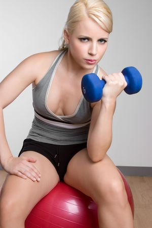 Woman Exercising Stock Photo - 6141504