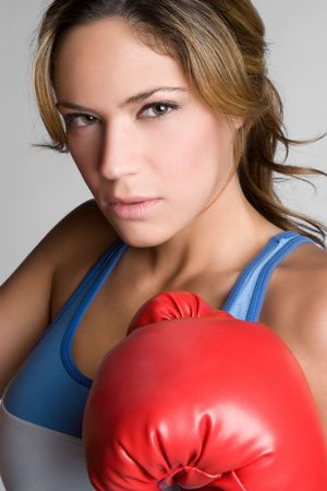Boxing Woman Stock Photo - 6141510
