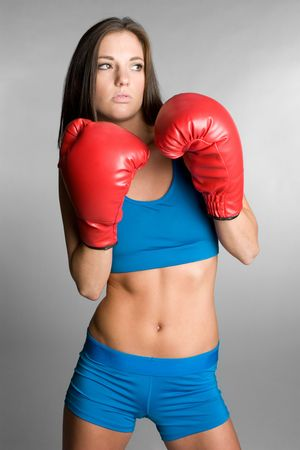 Female Boxer Stock Photo - 6141524