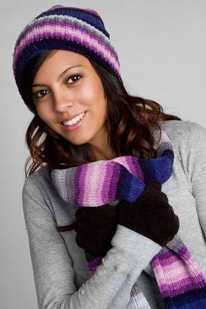 Mexican Winter Girl Stock Photo - 6162888