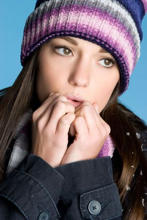 beanies: Cold Winter Girl