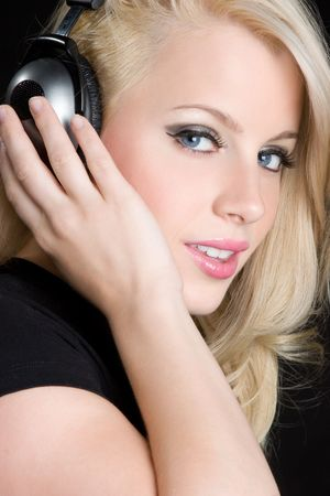 Headphones Girl Stock Photo - 6179709