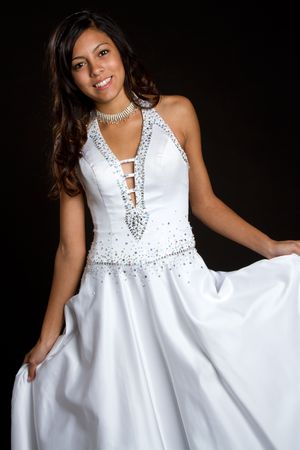 Smiling Fashion Girl Stock Photo - 6179718