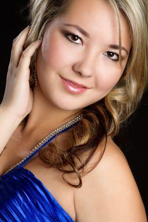 Smiling Glamor Girl Stock Photo - 6179721