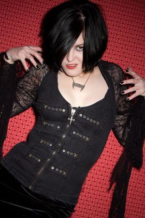 Gothic Vampire Girl Stock Photo - 6270664