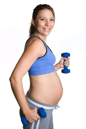 Pregnant Workout Girl Stock Photo - 6270665