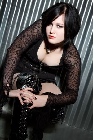 Gothic Girl Stock Photo - 6270685