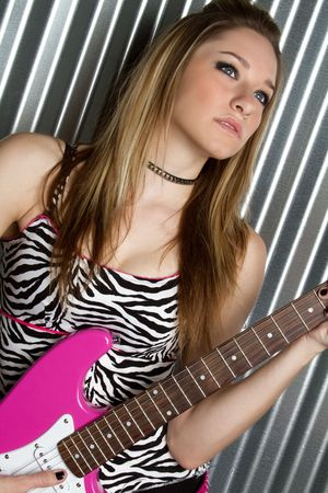 Rock Star Girl Stock Photo - 6270689