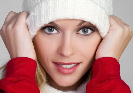 Winter Beanie Woman Stock Photo - 6581001