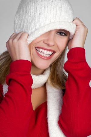 Fun Winter Girl Stock Photo - 6581002
