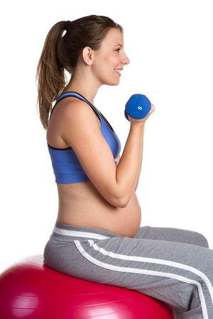 Pregnant Fitness Woman Stock Photo - 6581005