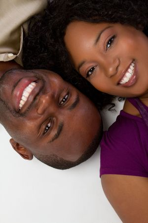 African American Couple Stock Photo - 6581007