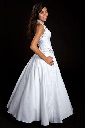 Pretty Girl Wearing Dress Stock Photo - 6307092