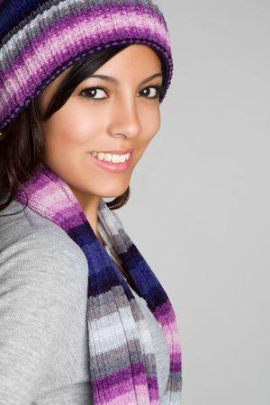 Pretty Winter Woman photo