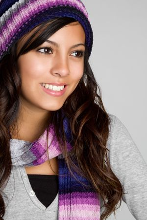 Mexican Winter Woman Stock Photo - 6307087