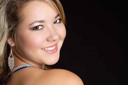 Smiling Latina Girl Stock Photo - 6307108