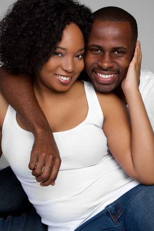 Smiling Black Couple Stock Photo - 6314049