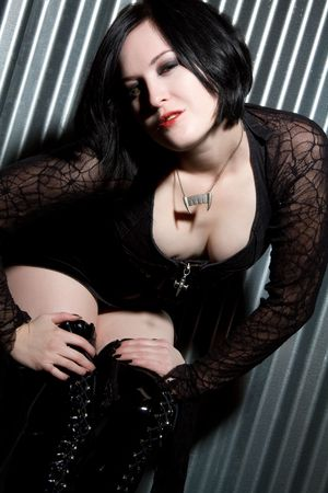 Goth Girl Stock Photo - 6314053