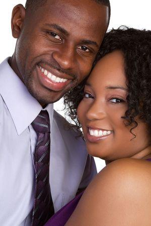 Happy Smiling Black Couple Stock Photo - 6314054