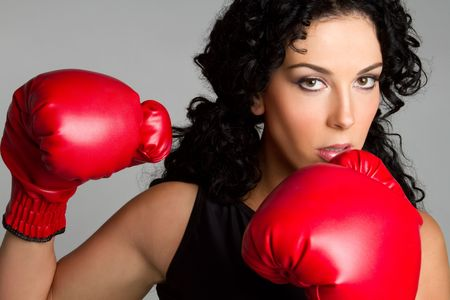 Boxing Woman Stock Photo - 6334364