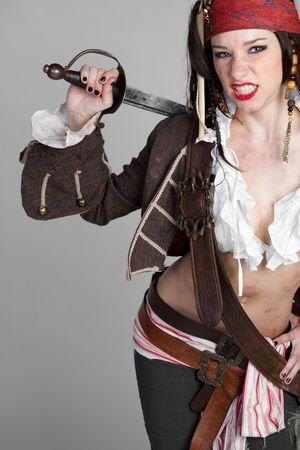 bandana girl: Pirate Girl LANG_EVOIMAGES