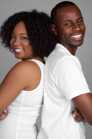 Smiling African American Couple Stock Photo - 6334372