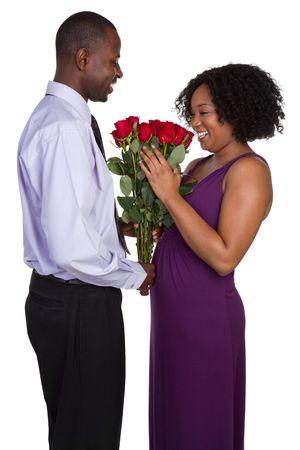Valentine's Day Couple Standard-Bild