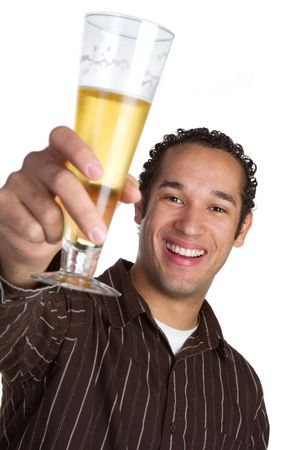 Man With Beer Stock Photo - 6334387