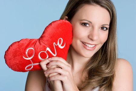 Love Heart Woman Stock Photo - 6334386