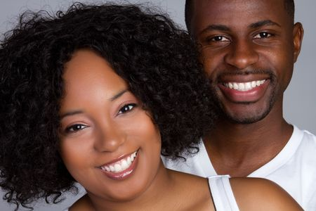 Happy African American Couple Stock Photo - 6334393