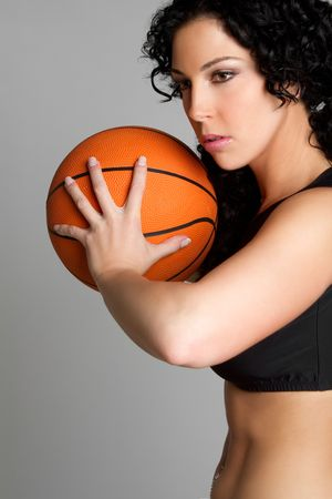 grip: Female Basketball Player