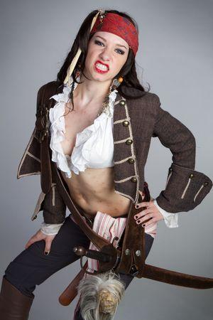 female pirate: Mad Pirate