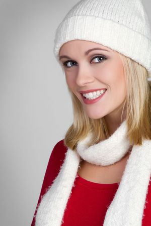 Happy Winter Girl Stock Photo - 6343120