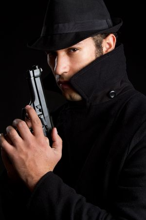 Male Spy Stock Photo - 6343134