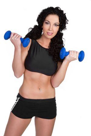 Workout Woman Stock Photo - 6343136