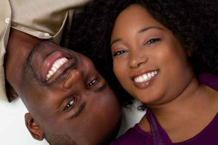 Happy Black Couple Stock Photo - 6343124