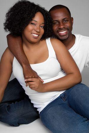 black couple: Cute Couple