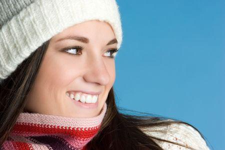 Smiling Winter Girl Stock Photo - 6363443