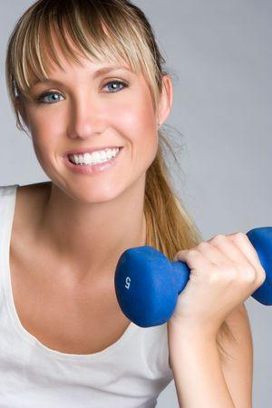 Fitness Girl Smiling Stock Photo - 6363441